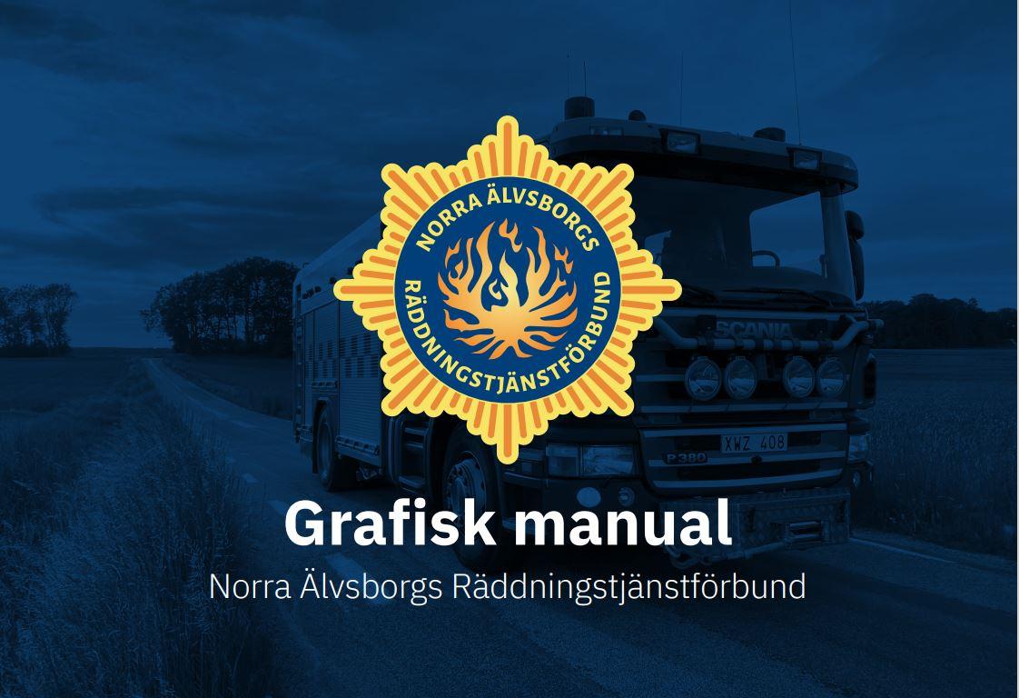 Bild på framsidan av NÄRF:s grafiska manual.